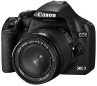 Canon EOS 500D SLR-Digitalkamera (15 MP, LiveView, HD-Video, inkl. 18-55mm IS Kit, bildstabilisiert) Canon Ifc-200u Usb