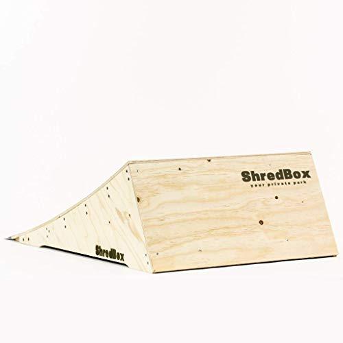 ShredBox Launcher 300   DIY KIT   Skatepark Qualität   Launch Ramp   SkateRamp   Jumpramp   Schanze   Für Skateboard, BMX, Scooter   Dein privater Skatepark