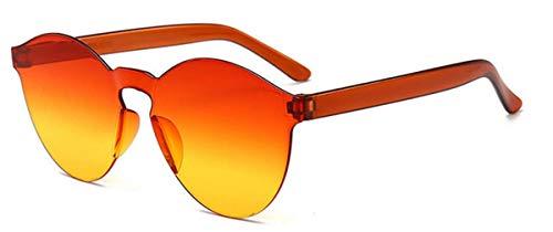 Fliegend Unisex UV400 Transparente Sonnenbrille Herren Damen Polarisierte Sonnenbrille Ohne Rahmen Wayfarer Sollenbrille Gespiegelte Linse Ultra Leicht Mode