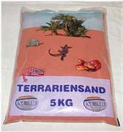 5 kg Terrariensand rot trocken