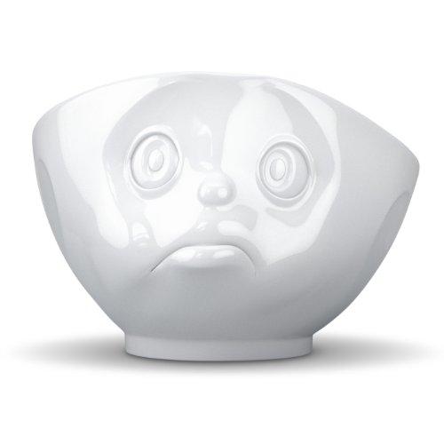 Fiftyeight Tassen – Bol en porcelaine Visage boudeur Blanc 500 ml