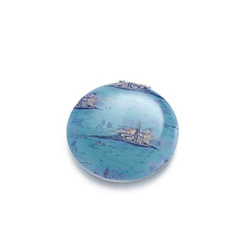 Intrigue Kompaktspiegel mit Urlaubsmotiv (Einheitsgröße) (Blau)