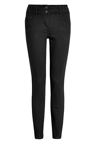 next Donna Jeans Skinny Effetto Push-Up, Snellente E Modellante Nero
