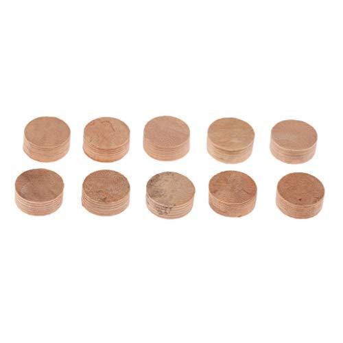 Homyl 10er-Set Kork Mat Pads Dichtung Reparatur Instrumente Teile für Trompete (4mm Dicke) -
