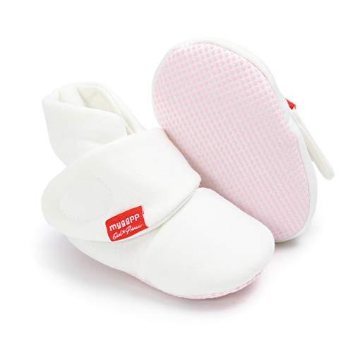 Botines de Bebé,Invierno Suave Algodón Unisexo Antideslizante Bebé Zapatos Navidad Primero Cumpleaños...