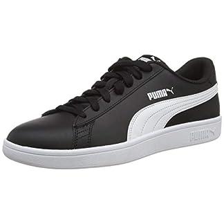 PUMA Unisex-Erwachsene Smash v2 L Sneaker, Schwarz Black White, 47 EU 8