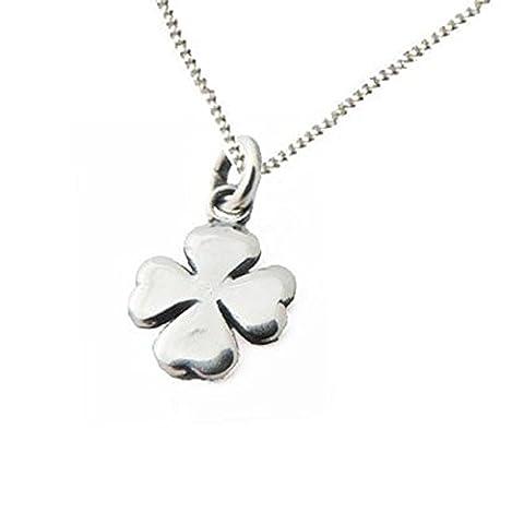 925 Sterling-Silber 925 Anhänger Kleeblatt Sterling Silber mit Chain- traditionelles Geschenk