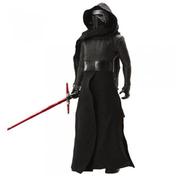 Star Wars - Figura de Kylo Ren- Episodio VII - 40cm - Color negro