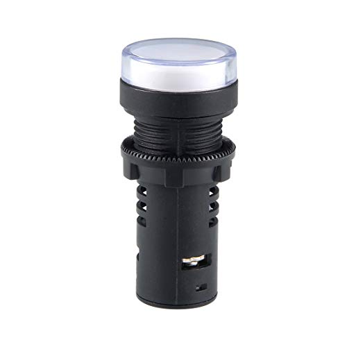 sourcing map Indikator Licht AC/DC 220V doppelte Farbe LED Lampe Spüle Gremium 7/8