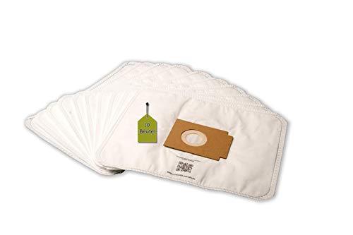 eVendix Staubsaugerbeutel passend für Profimaster 2001-2012 | 10 Staubbeutel + 1 Mikro-Filter | kompatibel mit Swirl EIO80