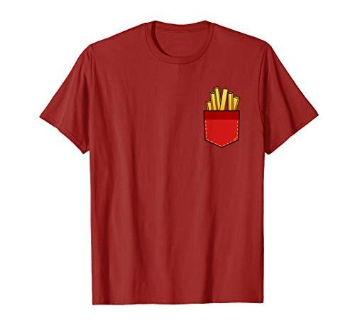 Pommes T-Shirt Lustig Pommes Fritten in meiner (Kartoffel Mann Kostüm)