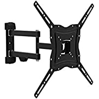 "Atlantis Land p014-e04sbap 50 ""Flat Screen Wall Mount – black wall mount bracket for flat screens (30 kg, 33 cm (13""); 127 cm (50); 100 x 100 mm, 400 x 400 mm, black) preiswert"