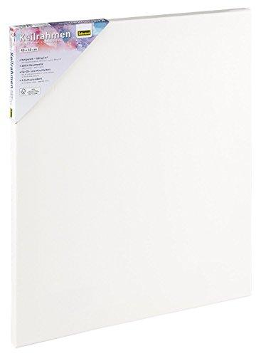 Idena 60033 - Keilrahmen für Öl und Acrylfarben, 40 x 50 cm