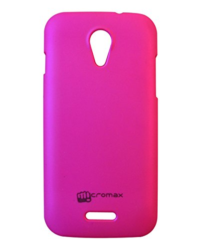 COVERNEW Back Cover for Micromax A114 Canvas 2.2-Dark pink  available at amazon for Rs.229