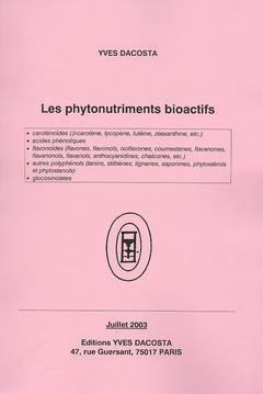 Les phytonutriments bioactifs