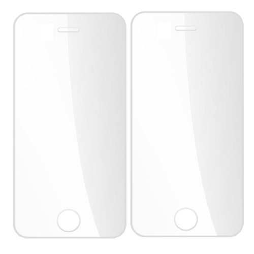 2-delige Clear Anti Dust LCD Screen Protectors voor Apple iPhone 4 4G 4GS 4g Lcd Screen Protector