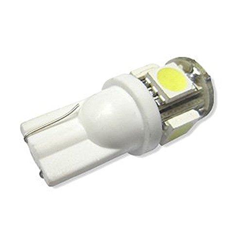 TOOGOO(R) 2,2W 42MM 6 pieces BA9S Canbus L'ampoule de voiture pas d'erreur pure blanc 36 SMD LED Feux de freinage Feux de vioture a l'arriere 12V