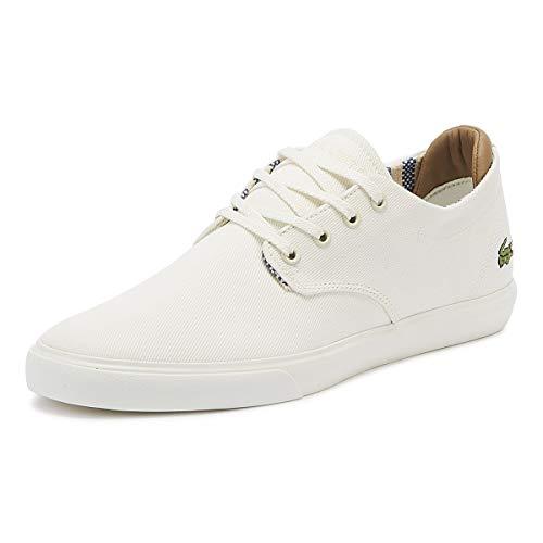 Lacoste Esparre 219 1 Herren Off Weiß Sneakers-UK 11 / EU 46