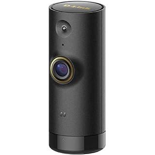 Renewed  D Link DCS P6000LH Mini HD Wi Fi Camera Compatible with Alexa  Black