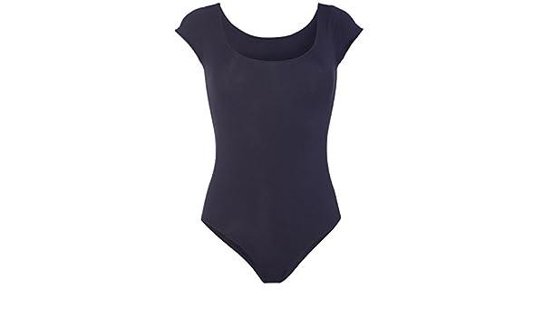 MONOPRIX FEMME - Body en coton et élasthanne chiné - Femme - Taille   38 40  - Couleur   MARINE  Amazon.fr  Vêtements et accessoires c959d00c7c3