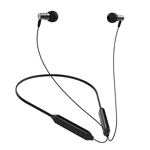 Hifi Walker Bluetooth Kopfhörer, kabellose aptX-Stereo-In-Ear-Ohrhörer aus Bluetooth, sicherer Sitz für Sport, Fitnessstudio, Reisen (IPX5-Wasserdicht, eingebautes Mikrofon) - Hi Fi Ear Plugs