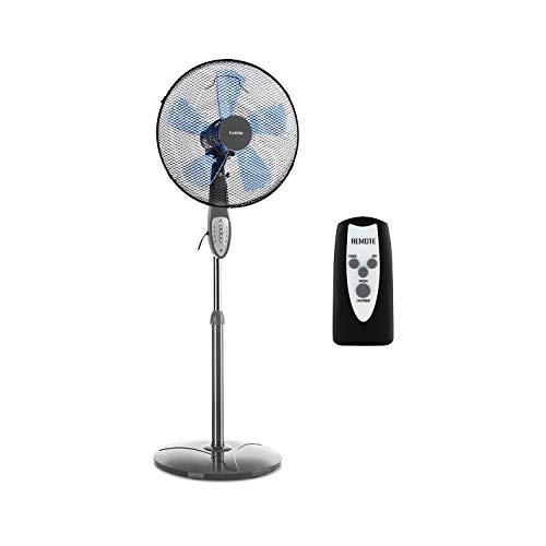KLARSTEIN Summerjam IceLine - Ventilador de pie, Ventilador Vertical, 69,18m³/min, 50W de Potencia...