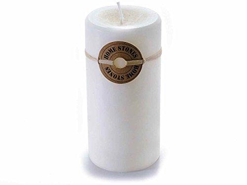 Ideapiu 4 Candela cilindrica profumata alla Vaniglia Colore Bianco