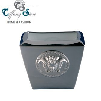 Versace Vase 18cm Medusa platin Platin Vase