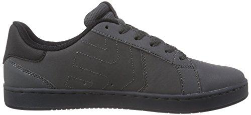 Etnies Fader LS, Chaussures de skateboard homme Gris (grey/black)