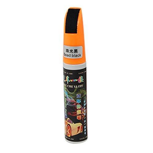 Oranje Plastic Cap Bead Black krassen Healing Brush verf pen voor auto