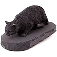 Schungit Figur auf massiv Schungitsockel,6x10cm,ca. 380g, aus Rußland-Karelien,mit Zertifikat. preisvergleich bei billige-tabletten.eu