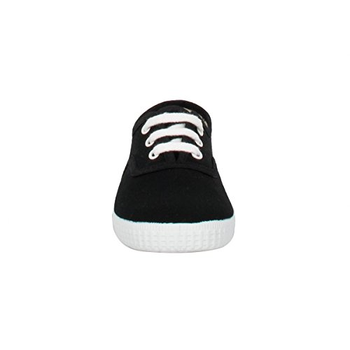 Victoria Inglesa Lona Unisex - Erwachsene Sneaker Schwarz