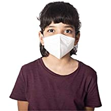 Mediweave KN95 Face Mask for Kids, CE Certified, (White) Pack of 5