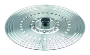 Ibili 714237 Couvercle à usage multiple 37 cm en Inox (avec trous)