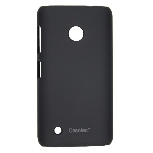Casotec Ultra Slim Hard Shell Back Case Cover for Nokia Lumia 530 - Black  available at amazon for Rs.175