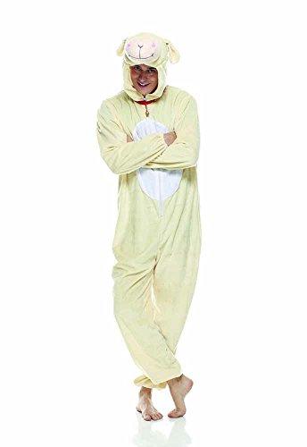 Kostüm Erwachsene Schaf Für - Rubie's Rubie s it30556-std-Schaf Kostüm, Erwachsene, Einheitsgröße