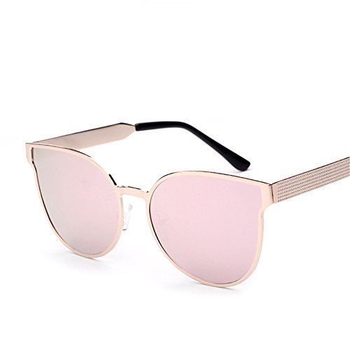 Gafas de color rosa