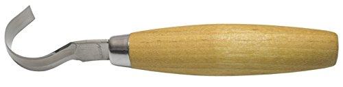 Morakniv 162s - Cuchillo curvo talla madera, acero