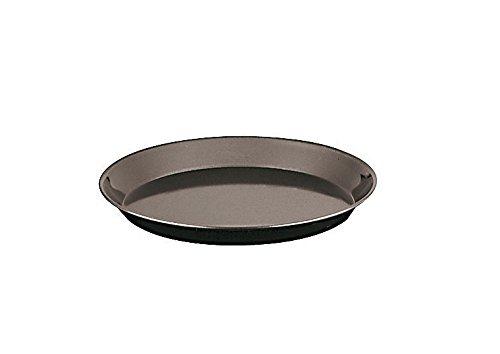 Paderno World Cuisine 11744-32 Blue Steel Heavy Duty Baking Pan, Large, Black