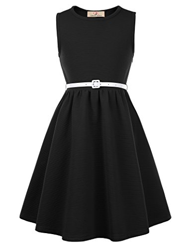 GRACE KARIN Maedchen Partykleid Ballkleid Sommer Kleid 7-8 Jahre CL10482-1