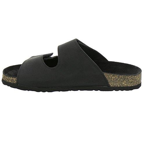 Preto Homens Sapatos Mula Afs 3108 FIBqBv