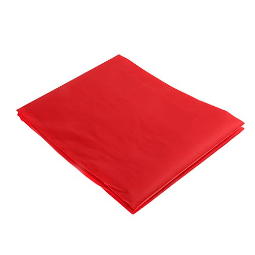 Dauerhafte und Schöne Abdeckplane für Billardtische, Staubschutz und Tischschutz für 9ft-Tische für Billard Club - Rot, 9ft / 2.8cm