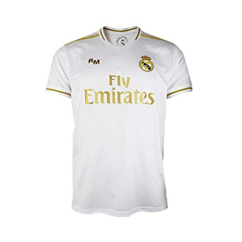Camiseta 1ª equipación del Real Madrid 2019-2020 - Replica Oficial con Licencia - Adulto Talla S
