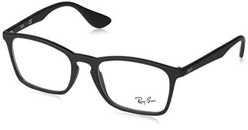 Preisvergleich Produktbild Ray-Ban Herren Brillengestell RX7045,  Schwarz (Negro),  53