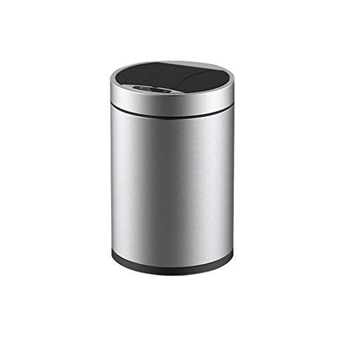 NSHUN Mülleimer Edelstahl Sensor Mülleimer Automatische Touchless Mülleimer Mülleimer Müll Abfallbehälter 6L (Touchless Mülleimer 20 Liter)
