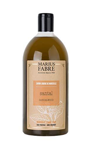 Marius Fabre 'Herbier' : Flüssigseife Sandelholz Nachfüll , 1 Liter -