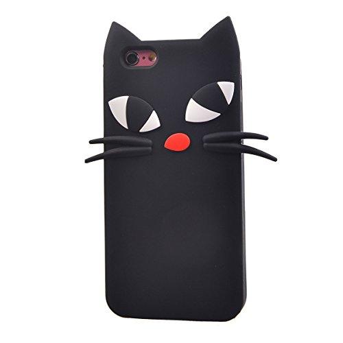 "COOLKE 3D Fashion Klassische Karikatur Tier weiche Silikon Shell Schutzhülle Hülle case cover für Apple iPhone 6 6s (4.7"") - 008 010"