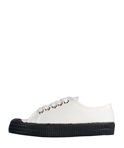 Novesta Star Master White Black Sneakers - Scarpe In Tela Bianche Nere White