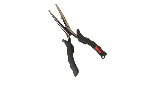 "Rapala RSSP6 6-1//2/"" Stainless Steel Pliers Shot Crimper Split Ring Fishing Tool"