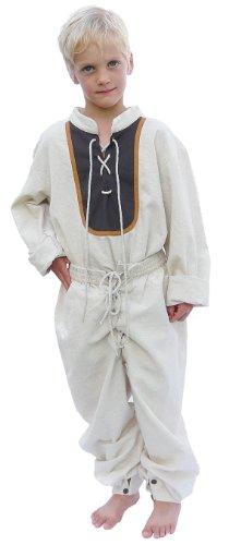 einkleider kleiner Recke - Kinder Jakob für 12-14 jährige/bordeaux (Halloween Kostüme Für 11 12 Jährige)